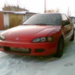 Реставрация Honda Civic