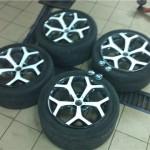 Покраска 20 дисков Х5 e70