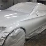 Mercedes AMG Замена цвета. Часть 2