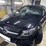 Mercedes AMG Замена цвета. Часть 1