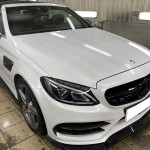 Mercedes AMG Замена цвета. Часть 3